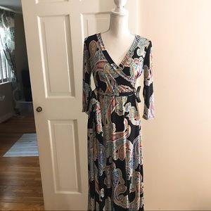 NWT -Paisley Maxi Dress